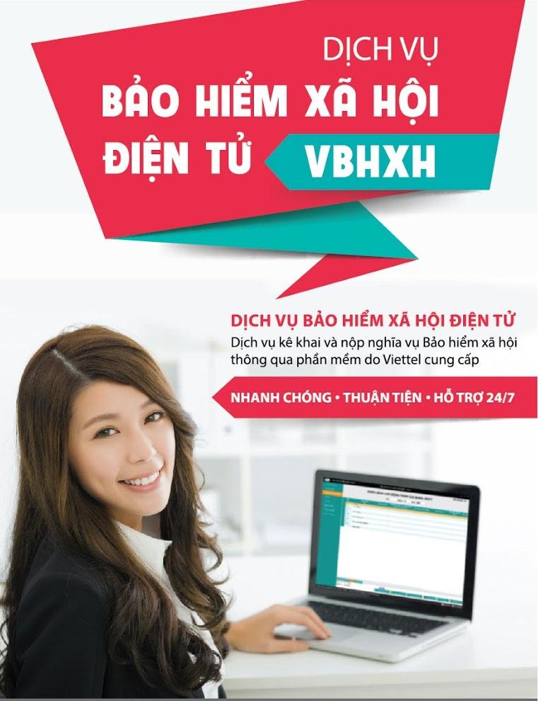phần mềm bảo hiểm xã hội vBHXH - viettel phú nhuận