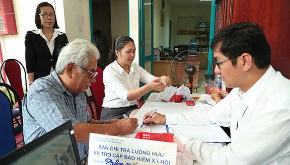 mức đóng bảo hiểm xã hội - Viettel phú Nhuận