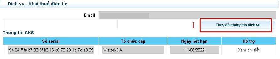 chữ ký số chưa đăng ký với cơ quan thuế - Viettel Phú Nhuận