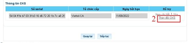 chứng thư số chưa được đăng ký - Viettel Phú Nhuận