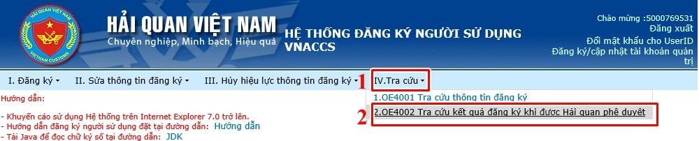 tra cứu thông tin tài khoản vnaccs - Viettel Phú Nhuận
