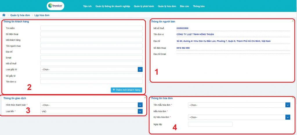 phần mềm hóa đơn điện tử - Viettel Phú Nhuận